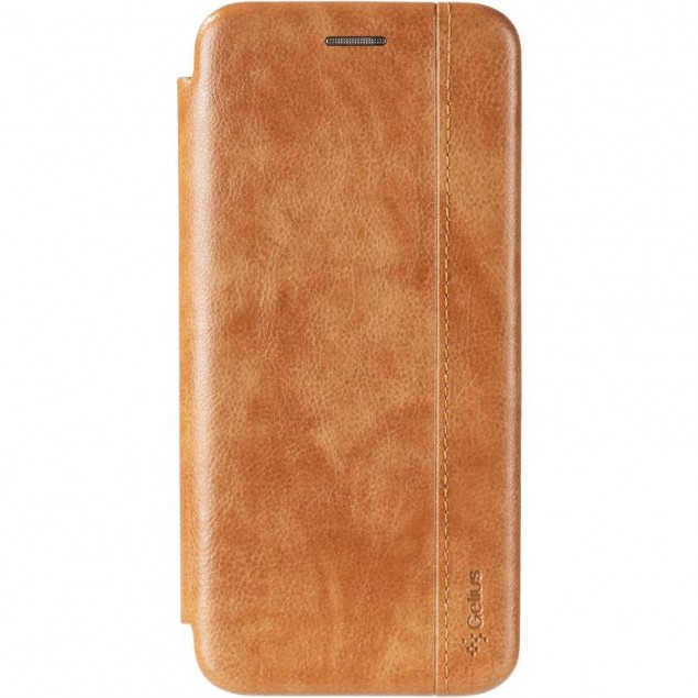 Book Cover Leather Gelius for Huawei Y6s/Y6 Prime (2019)/Honor 8a Gold