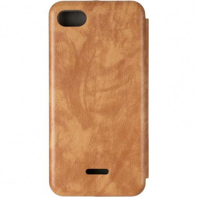 Book Cover Leather Gelius for Xiaomi Redmi 6a Gold
