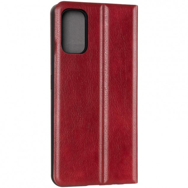 Book Cover Leather Gelius New for Realme 7 Pro Red