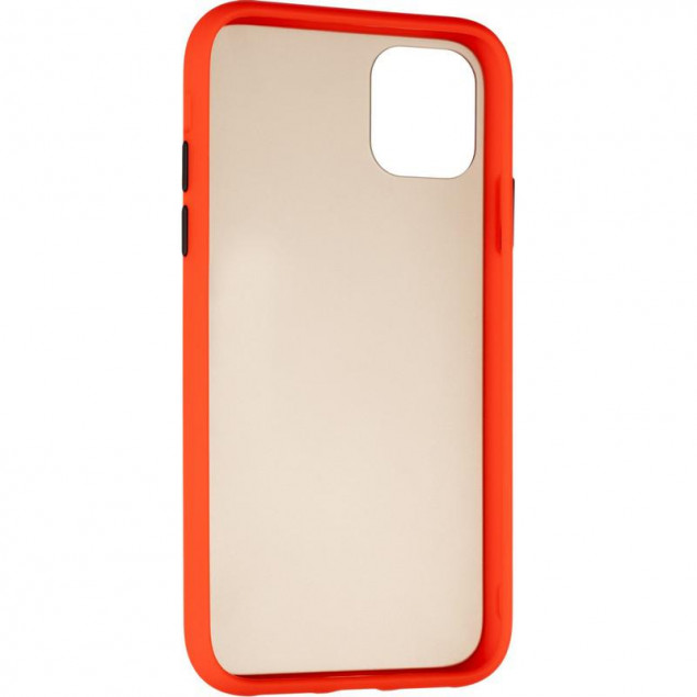 Gelius Bumper Mat Case for iPhone 11 Red