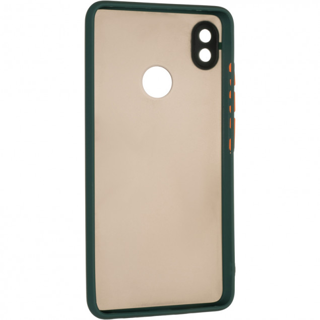 Gelius Bumper Mat Case for Tecno Pop 3 Green