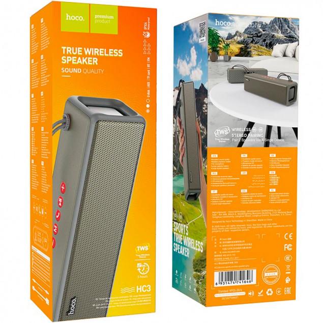 Bluetooth Speaker Hoco HC3 Gray
