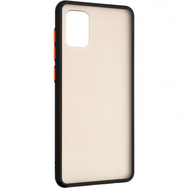 Gelius Bumper Mat Case for Samsung A715 (A71) Black