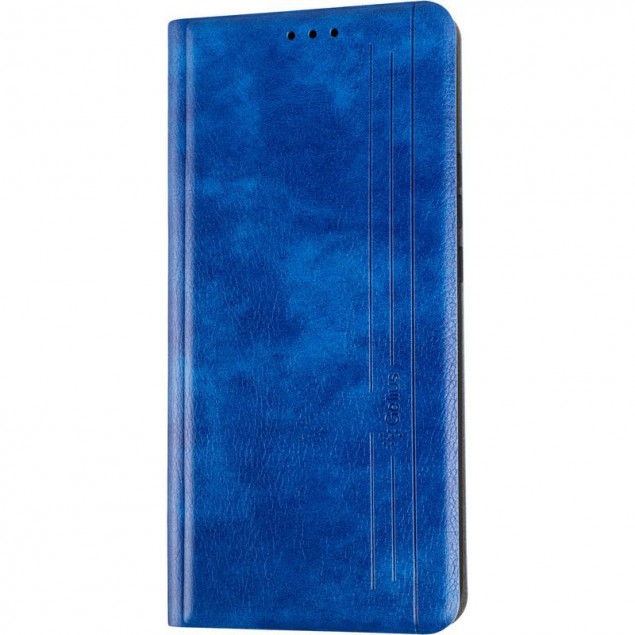 Book Cover Leather Gelius New for Huawei P Smart Z Blue