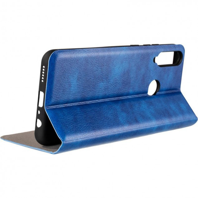 Book Cover Leather Gelius New for Huawei Y6P Blue