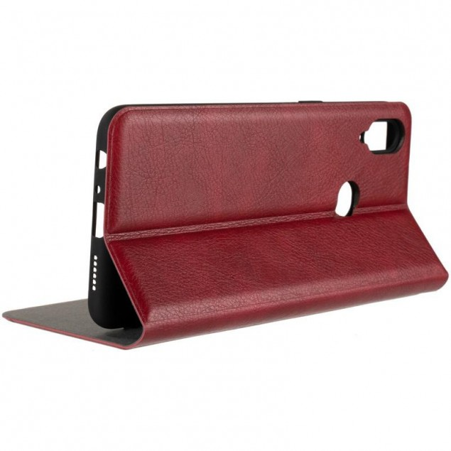 Book Cover Leather Gelius New for Samsung A107 (A10s) Red
