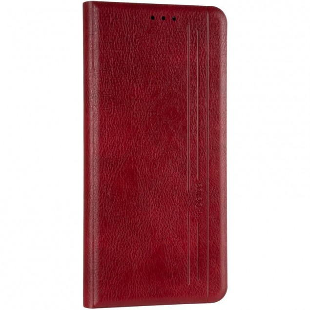 Book Cover Leather Gelius New for Samsung N770 (Note 10 Lite) Red