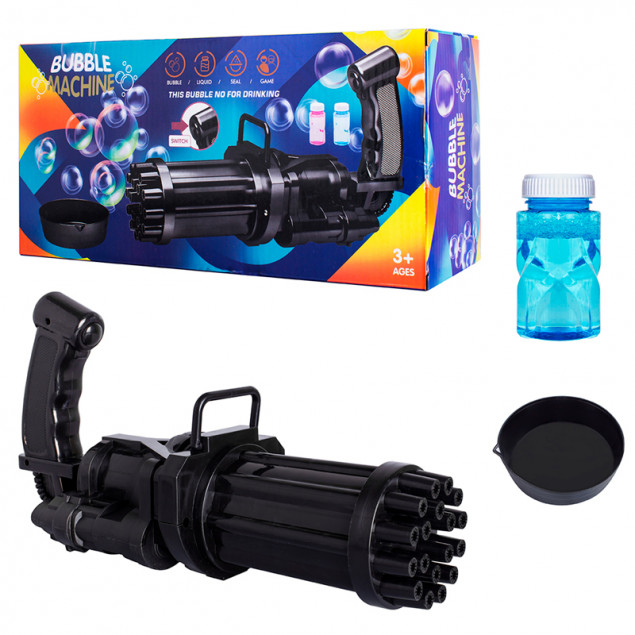 BUBBLE GUN BLASTER LY108 (Генератор для мыльных пузырей)