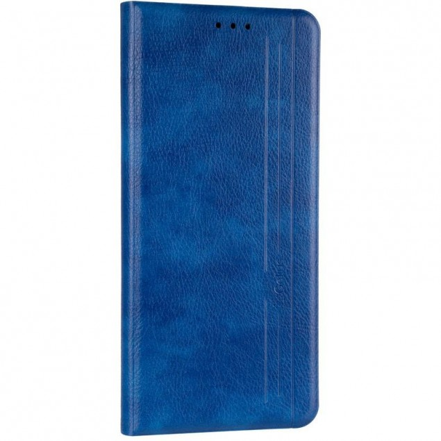 Book Cover Leather Gelius New for Xiaomi Redmi 9c Blue