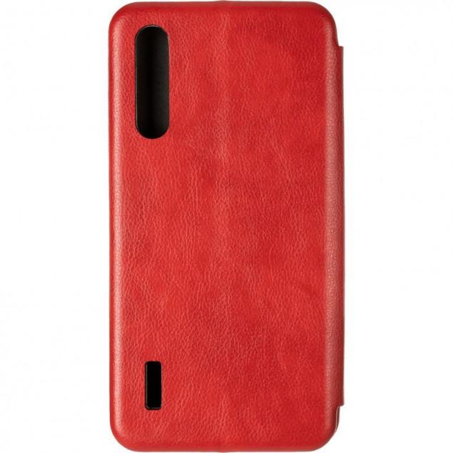 Book Cover Leather Gelius for Xiaomi Mi A3/CC9e Red