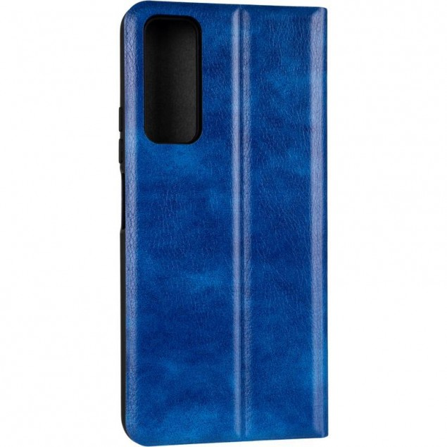 Book Cover Leather Gelius New for Huawei P Smart (2021) Blue