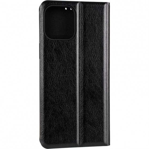 Book Cover Leather Gelius New for iPhone 12 Pro Max Black