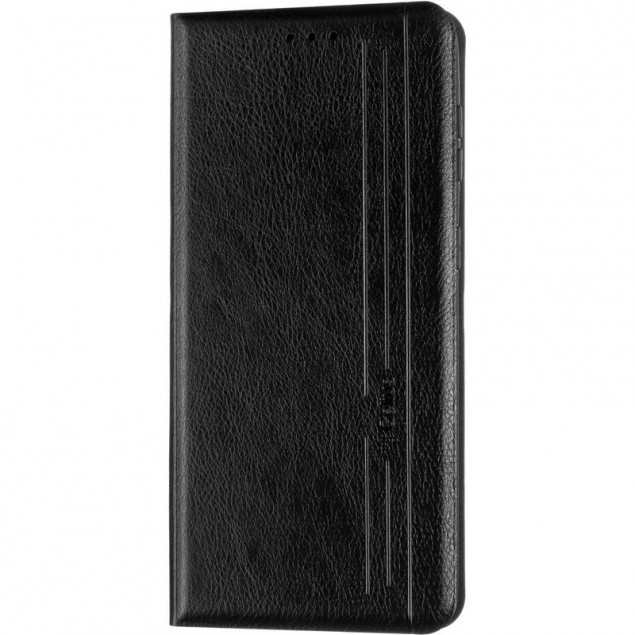 Book Cover Leather Gelius New for Samsung G996 (S21 Plus) Black