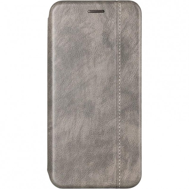 Book Cover Leather Gelius for Samsung J610 (J6 Plus) Grey