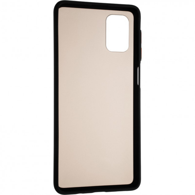 Gelius Bumper Mat Case New for Samsung A025 (A02s) Black
