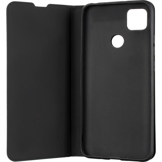 Book Cover Gelius Shell Case for Xiaomi Redmi 9C Black