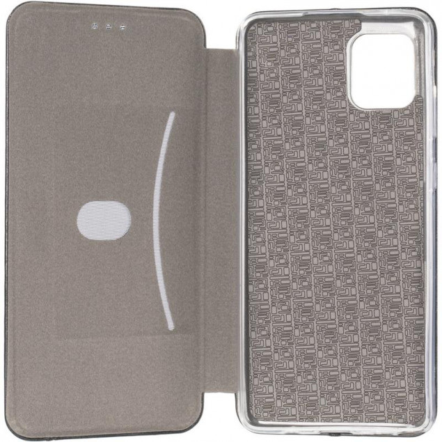 Book Cover Leather Gelius for Samsung N770 (Note 10 Lite) Black