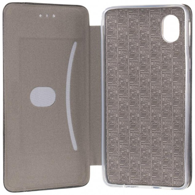 Book Cover Leather Gelius for Samsung A013 (A01 Core) Black