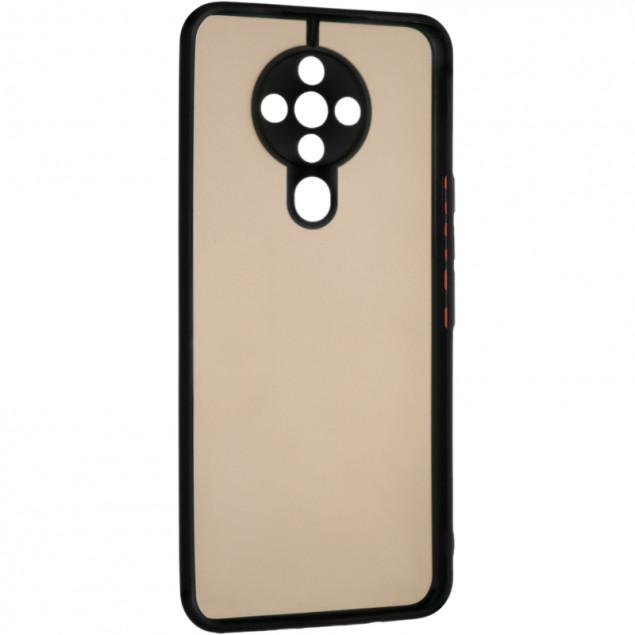 Gelius Bumper Mat Case for Tecno Spark 5 Pro Black