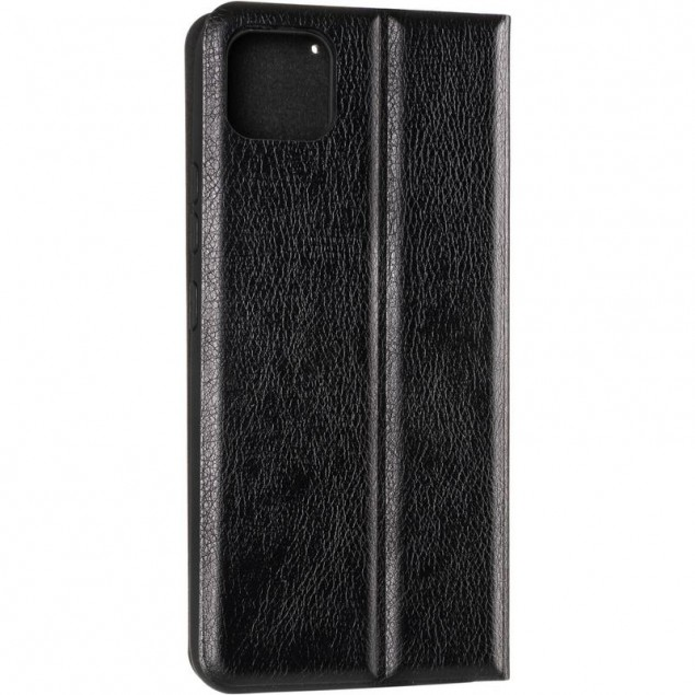Book Cover Leather Gelius New for Realme C11 Black