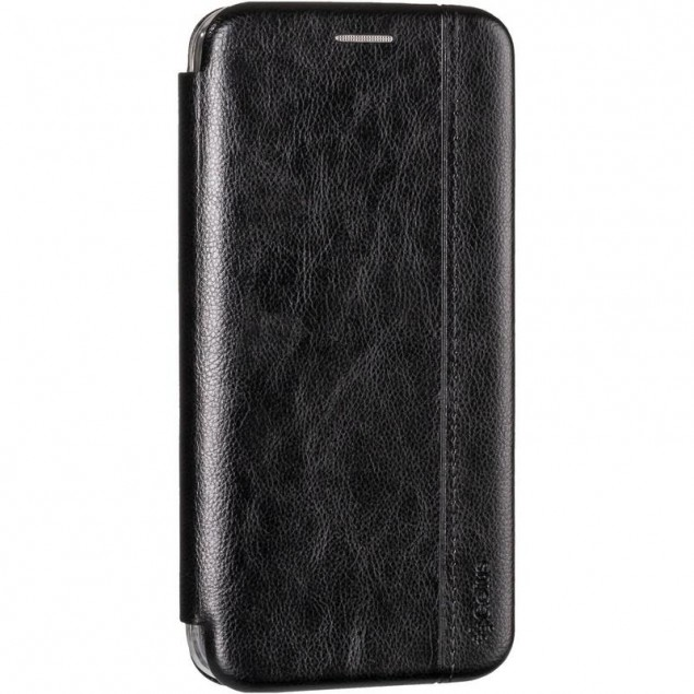 Book Cover Leather Gelius for Huawei P40 Lite Black