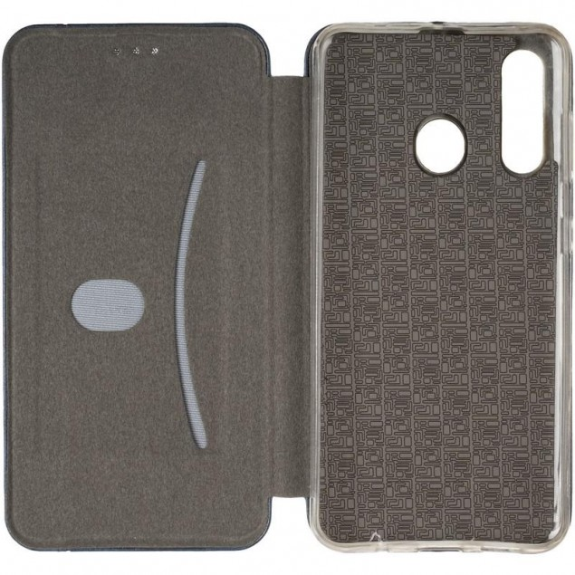 Book Cover Leather Gelius for Samsung M405 (M40) Blue