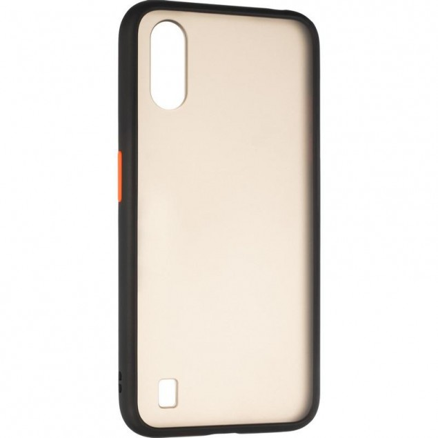 Gelius Bumper Mat Case for Samsung A015 (A01) Black