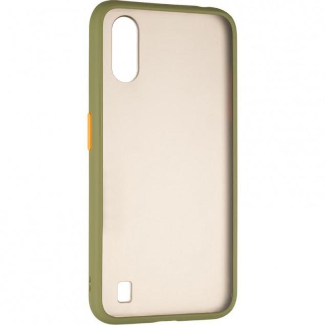 Gelius Bumper Mat Case for Samsung A015 (A01) Green