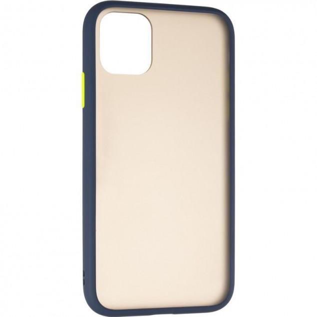 Gelius Bumper Mat Case for iPhone 11 Blue