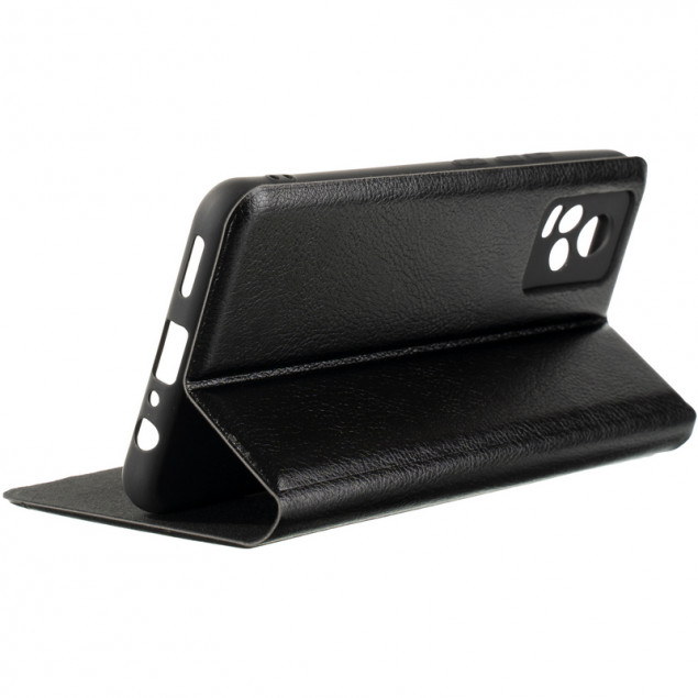Book Cover Leather Gelius New for Vivo V21E Black