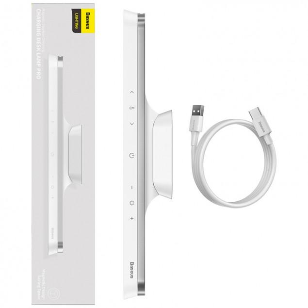 Baseus Magnetic Stepless Dimming Charging Desk Lamp (DGXC-C0G) (Универсальная лампа)