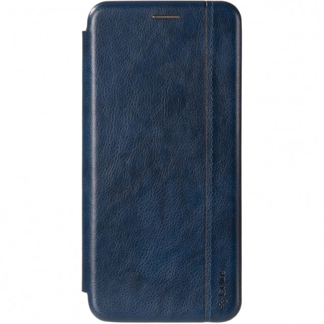 Book Cover Leather Gelius for Xiaomi Redmi Note 9 Blue