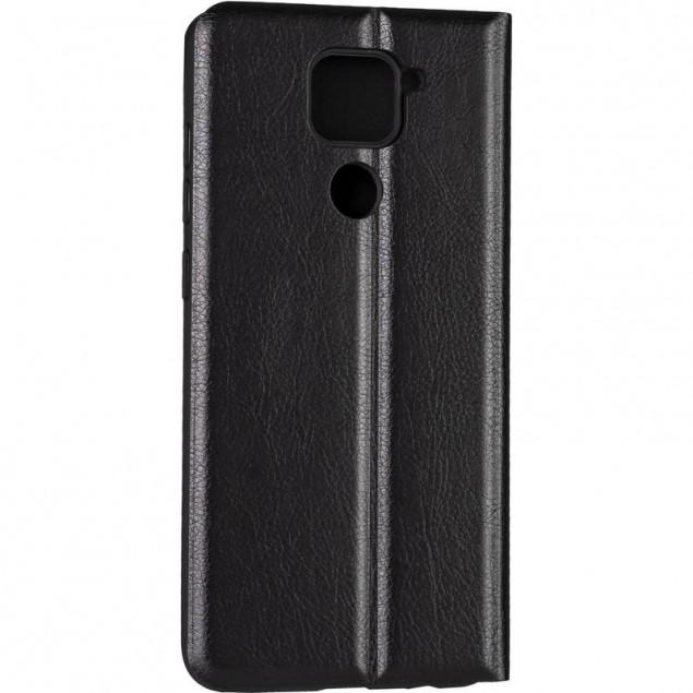 Book Cover Leather Gelius New for Xiaomi Redmi Note 9 Black