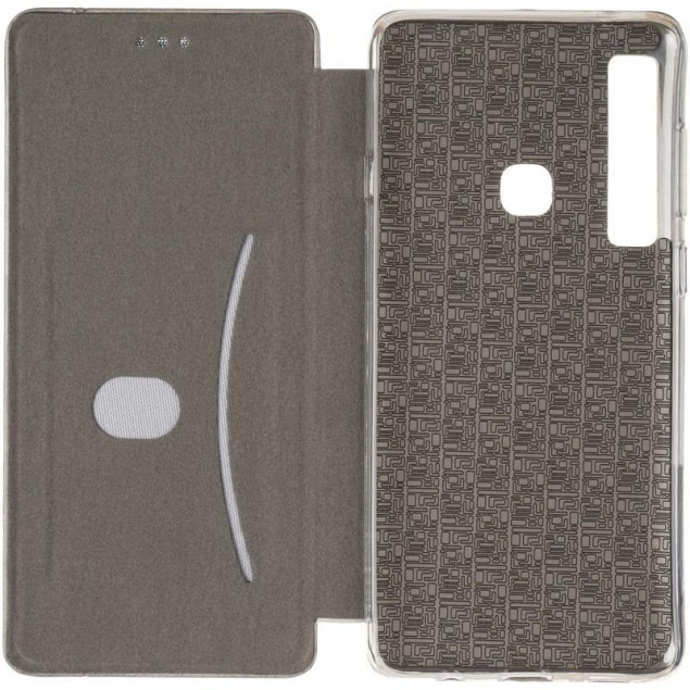 Book Cover Leather Gelius for Samsung A920 (A9-2018) Grey