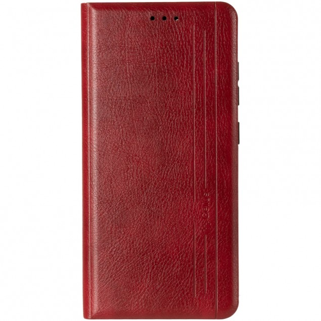 Book Cover Leather Gelius New for Samsung A525 (A52) Red