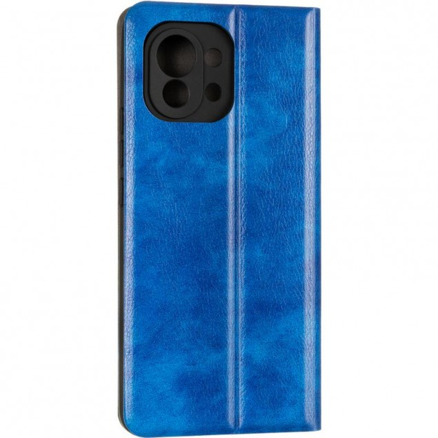 Book Cover Leather Gelius New for Xiaomi Mi 11 Blue
