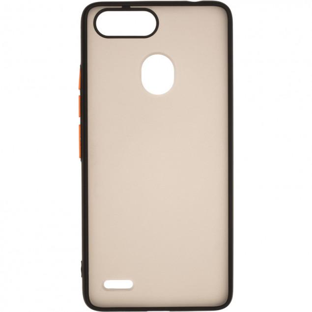 Gelius Bumper Mat Case for Tecno Pop 2F Black