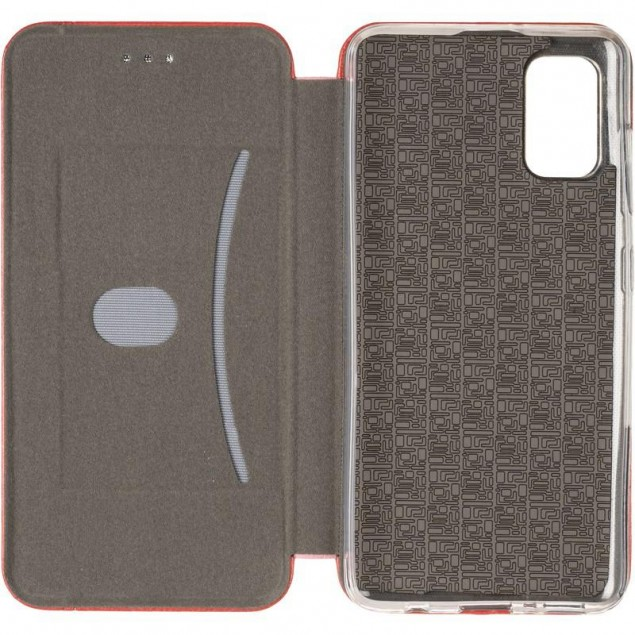 Book Cover Leather Gelius for Samsung A415 (A41) Red