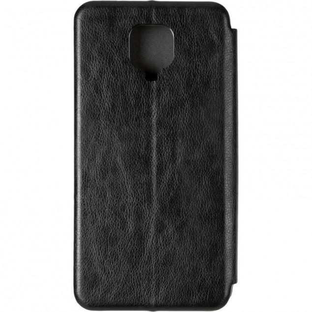 Book Cover Leather Gelius for Xiaomi Redmi Note 9s/9 Pro Max Black