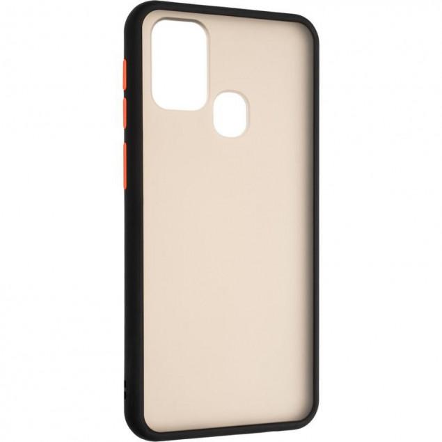 Gelius Bumper Mat Case for Samsung M315 (M31) Black