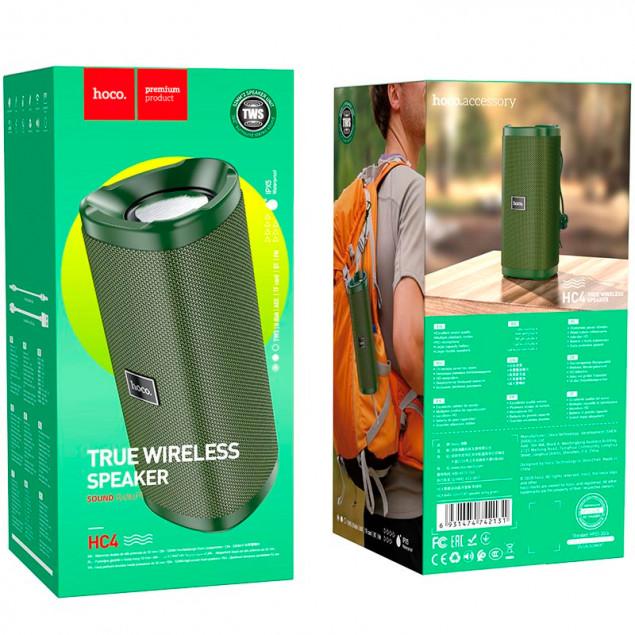 Bluetooth Speaker Hoco HC4 Camouflage Green