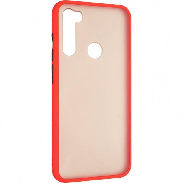 Gelius Bumper Mat Case for Xiaomi Redmi Note 8t Red