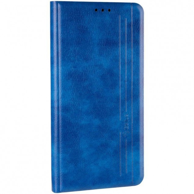 Book Cover Leather Gelius New for Samsung A107 (A10s) Blue