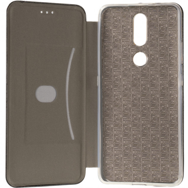 Book Cover Leather Gelius for Nokia 2.4 Black