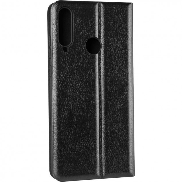 Book Cover Leather Gelius New for Huawei Y6P Black