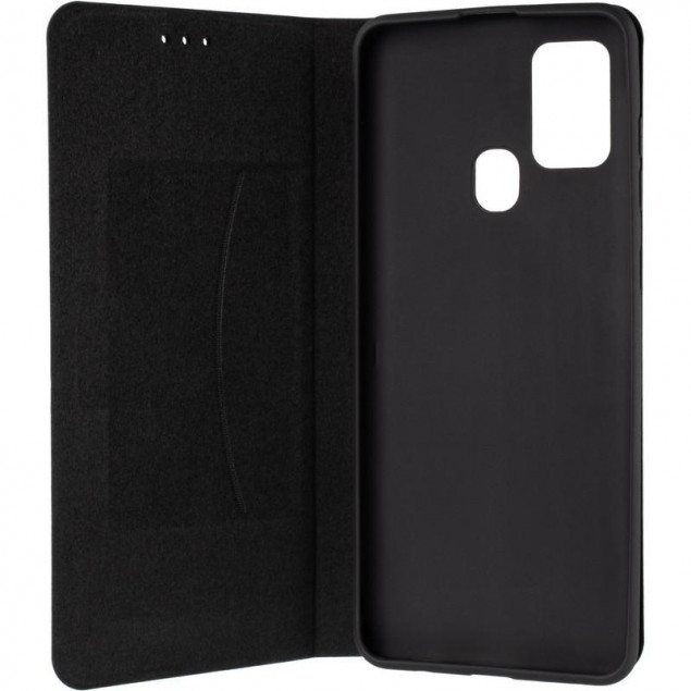 Book Cover Leather Gelius New for Samsung A217 (A21s) Black