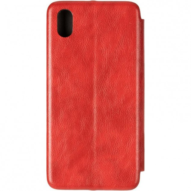 Book Cover Leather Gelius for Huawei Y5 (2019) Red