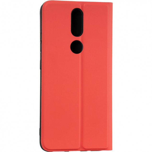 Book Cover Gelius Shell Case for Nokia 2.4 Red