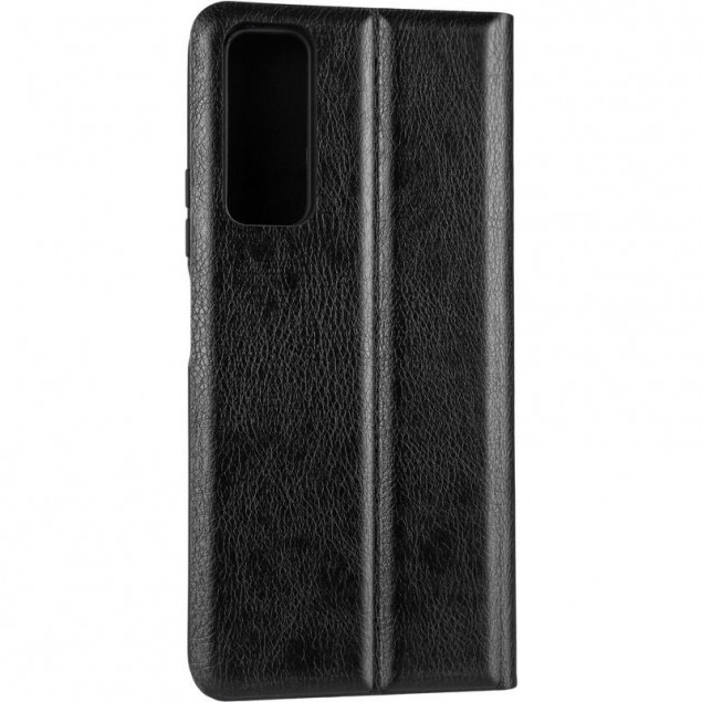 Book Cover Leather Gelius New for Huawei P Smart (2021) Black