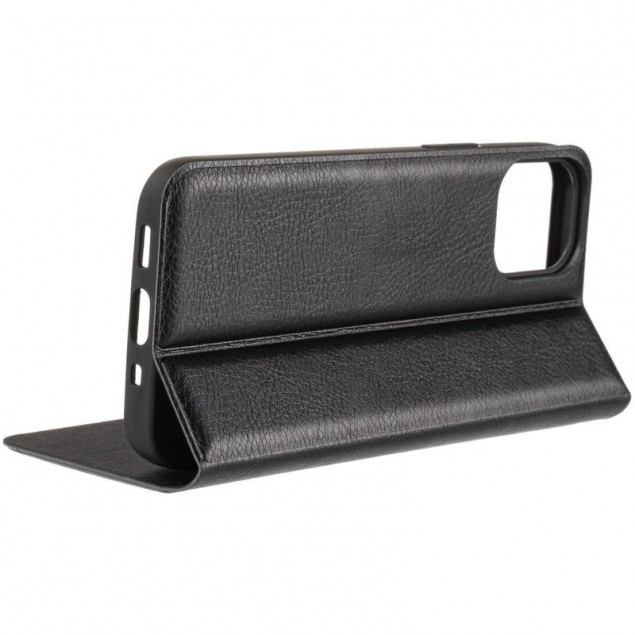 Book Cover Leather Gelius New for iPhone 12 Mini Black